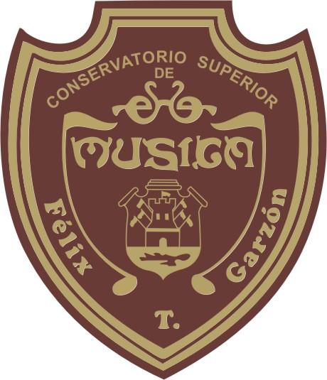 Es la imagen del logo del Conservatorio para la página de presentación